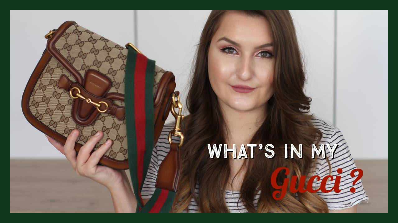 What's in my bag – Gucci Lady Web
