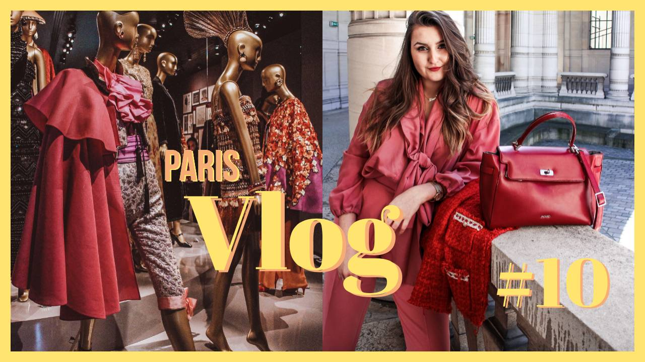 PARIS VLOG #10 // YSL Museum // Behind the Scenes Shooting
